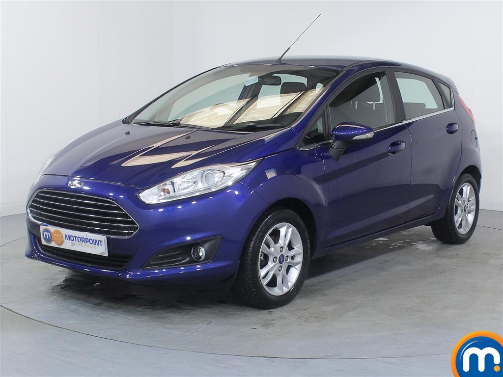 Ford Fiesta Zetec - Stock Number (982985) - Passenger side front corner