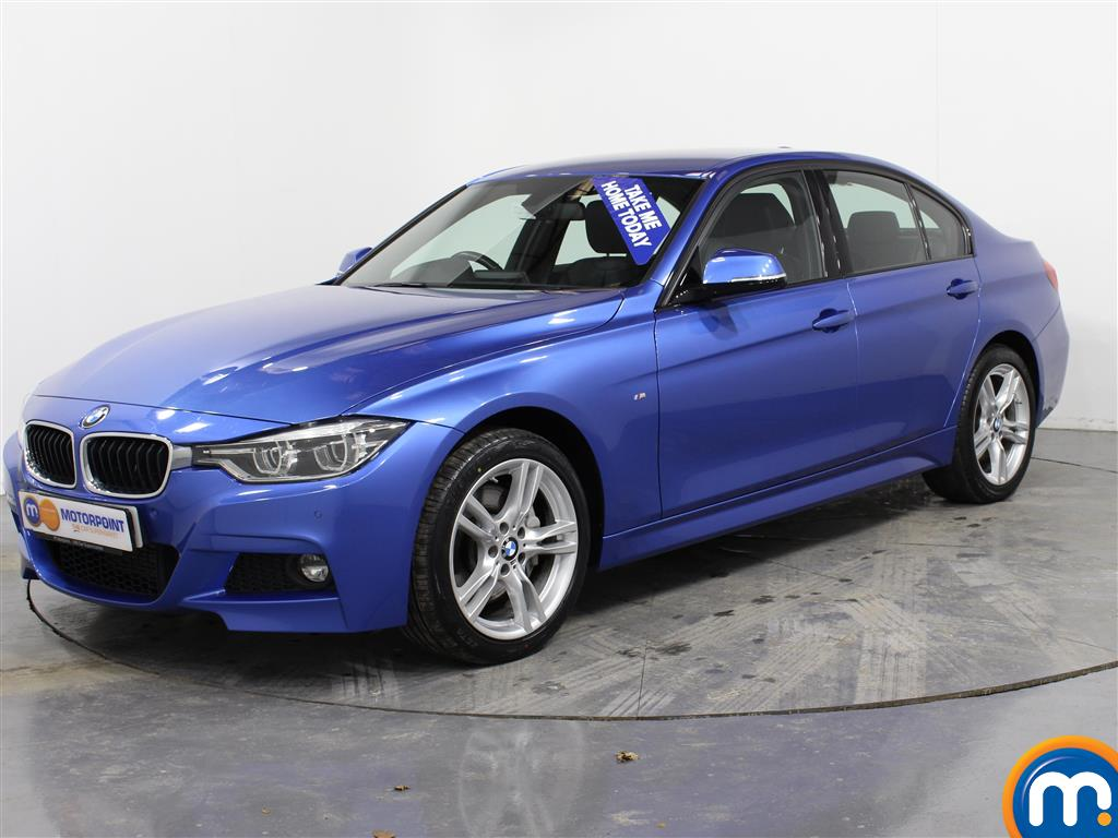 BMW 3 Series M Sport Automatic Diesel Saloon - Stock Number (981464) - Passenger side front corner