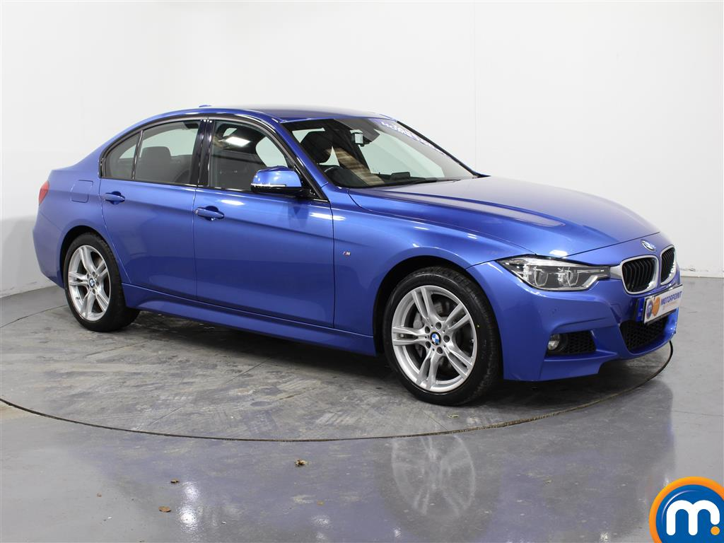BMW 3 Series M Sport Automatic Diesel Saloon - Stock Number (981464) - Drivers side front corner