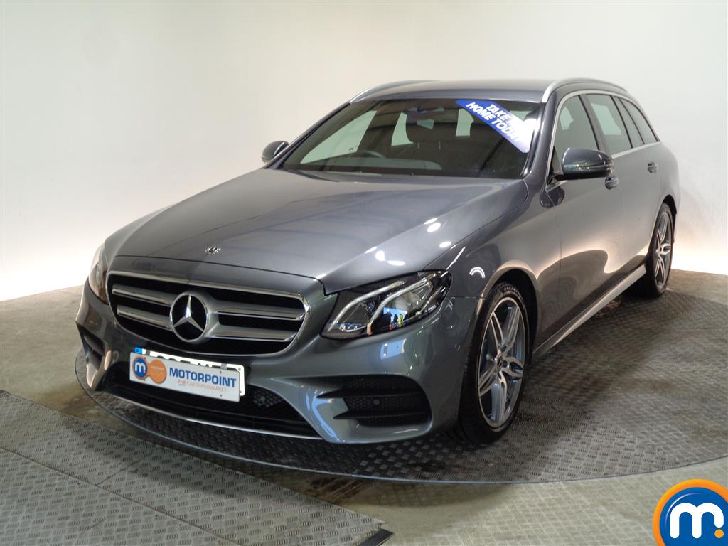 Mercedes-Benz E Class AMG Line - Stock Number (977470) - Passenger side front corner