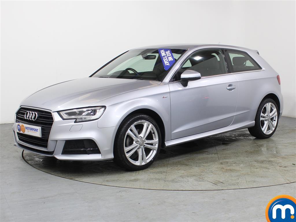 Audi A3 S Line - Stock Number (982233) - Passenger side front corner