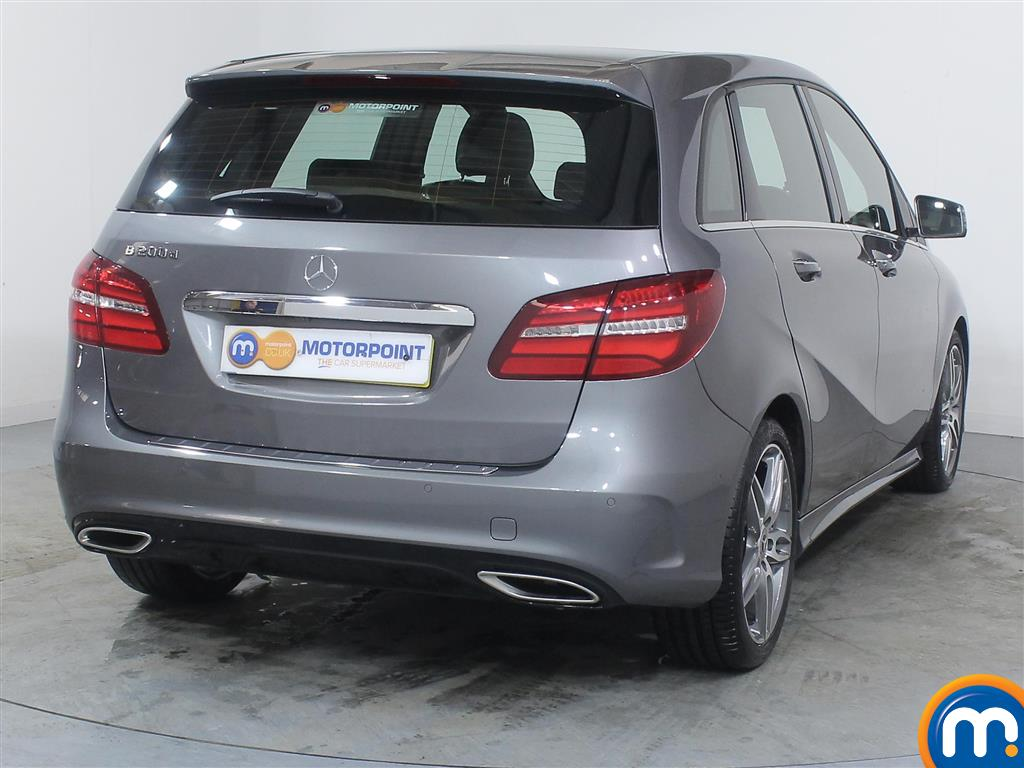 Mercedes-Benz B Class Amg Line Automatic Diesel Hatchback - Stock Number (976697) - Rear bumper