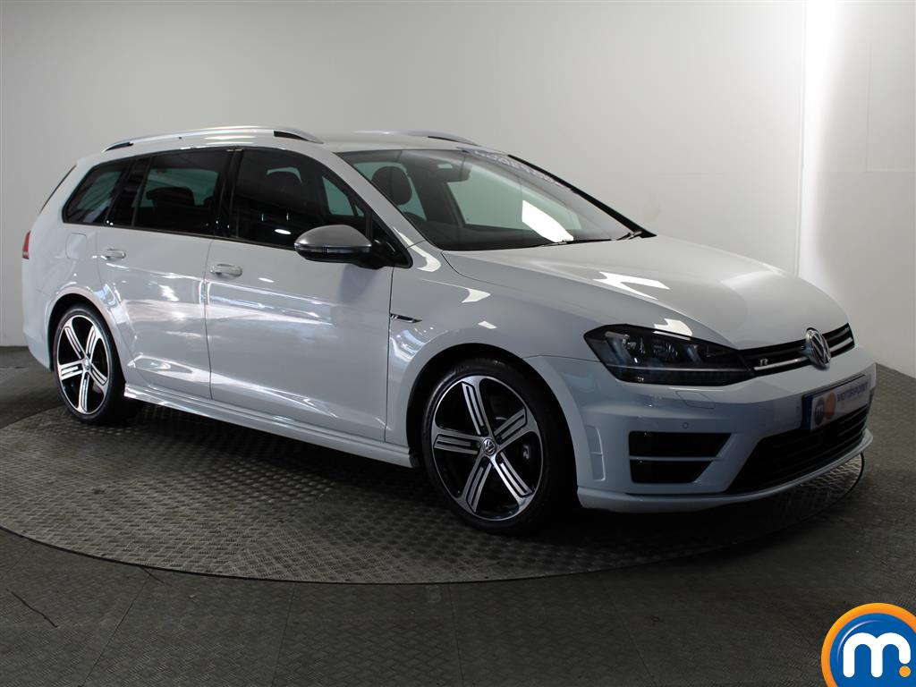 Volkswagen Golf R Automatic Petrol Estate - Stock Number (980479) - Drivers side front corner