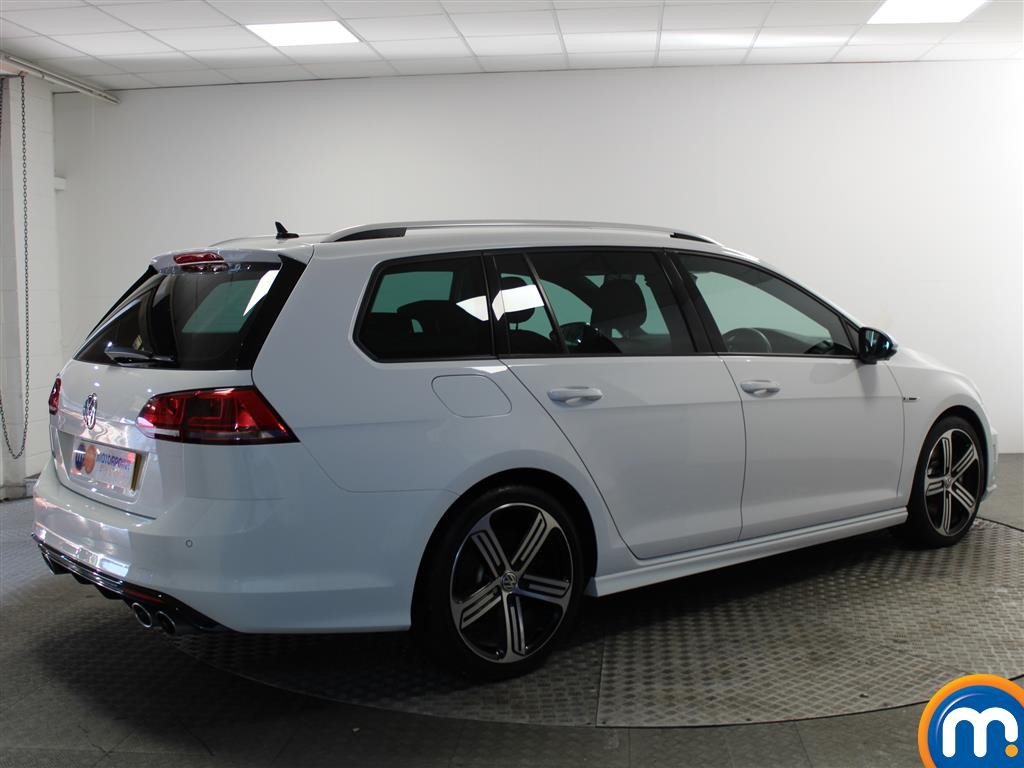Volkswagen Golf R Automatic Petrol Estate - Stock Number (980479) - Drivers side rear corner