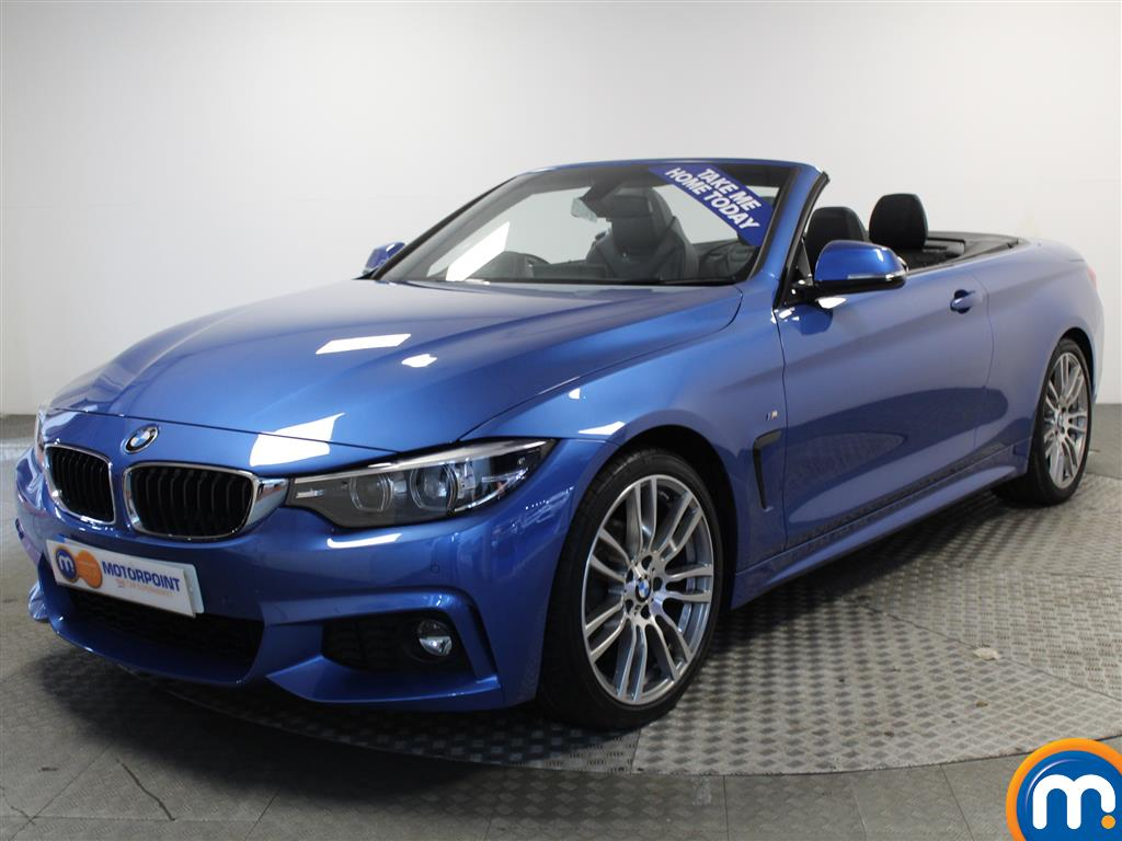 BMW 4 Series M Sport - Stock Number (981075) - Passenger side front corner