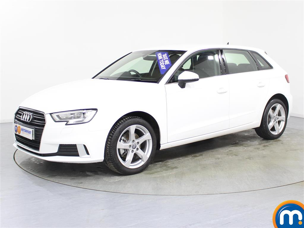Audi A3 Sport - Stock Number (980981) - Passenger side front corner