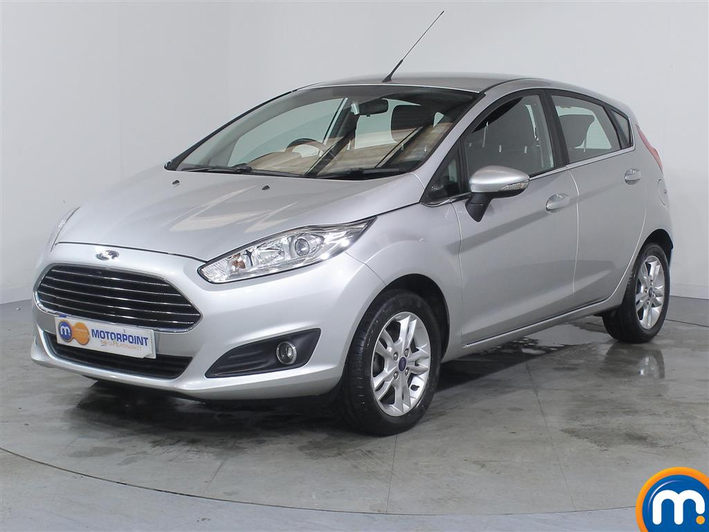 Ford Fiesta Zetec - Stock Number (986144) - Passenger side front corner