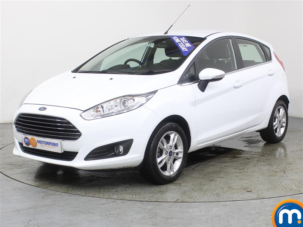 Ford Fiesta Zetec - Stock Number (971904) - Passenger side front corner
