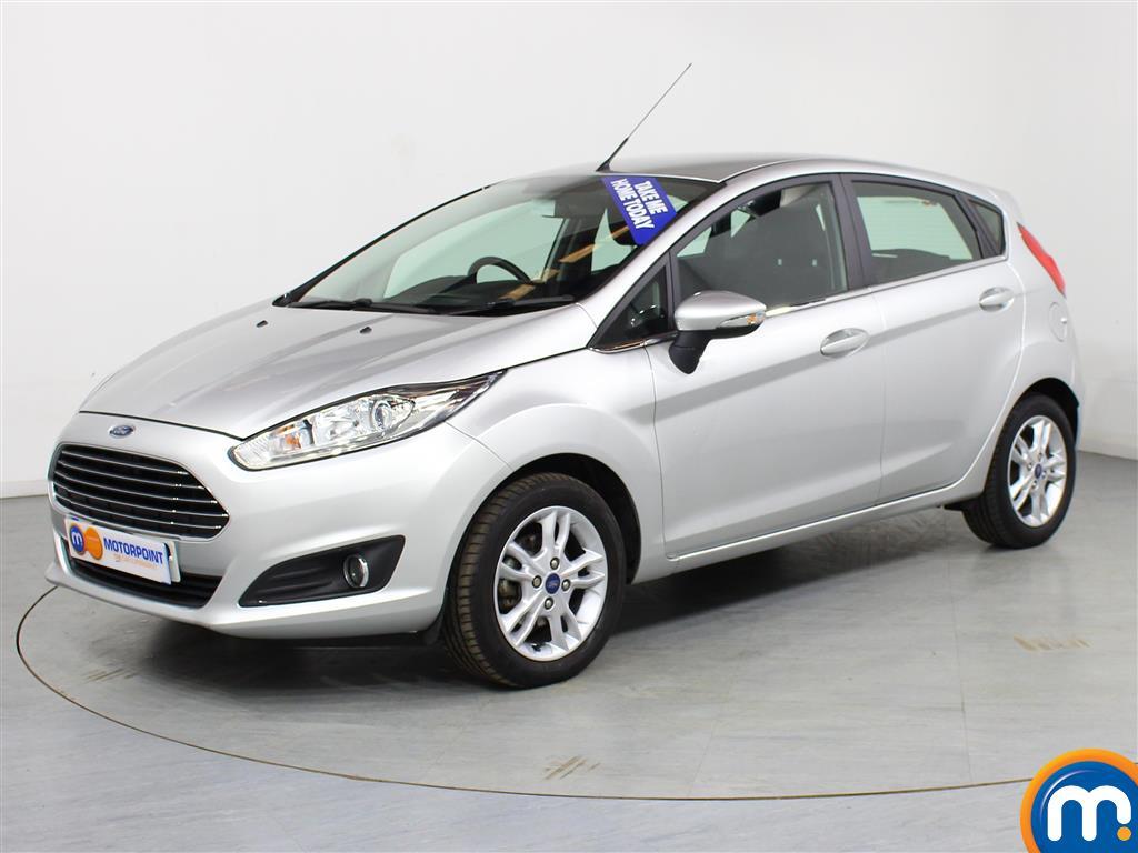 Ford Fiesta Zetec - Stock Number (986605) - Passenger side front corner