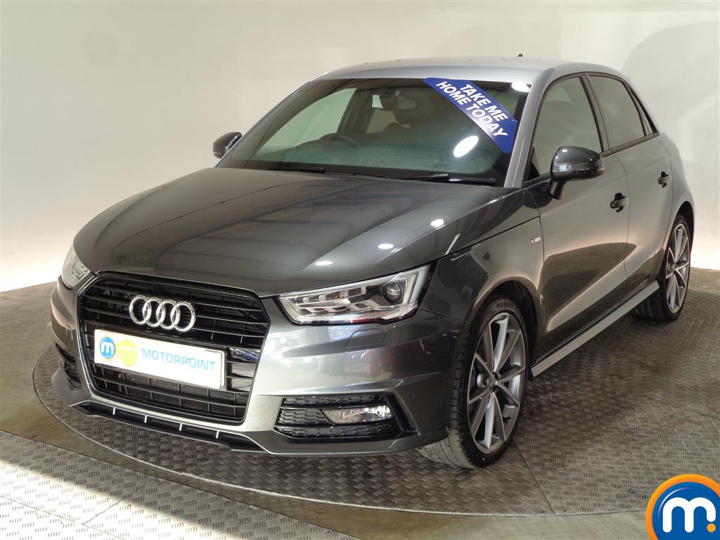 Audi A1 Black Edition Nav - Stock Number (981101) - Passenger side front corner
