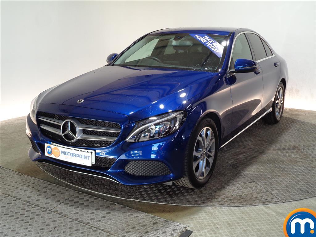 Mercedes-Benz C Class Sport - Stock Number (976748) - Passenger side front corner