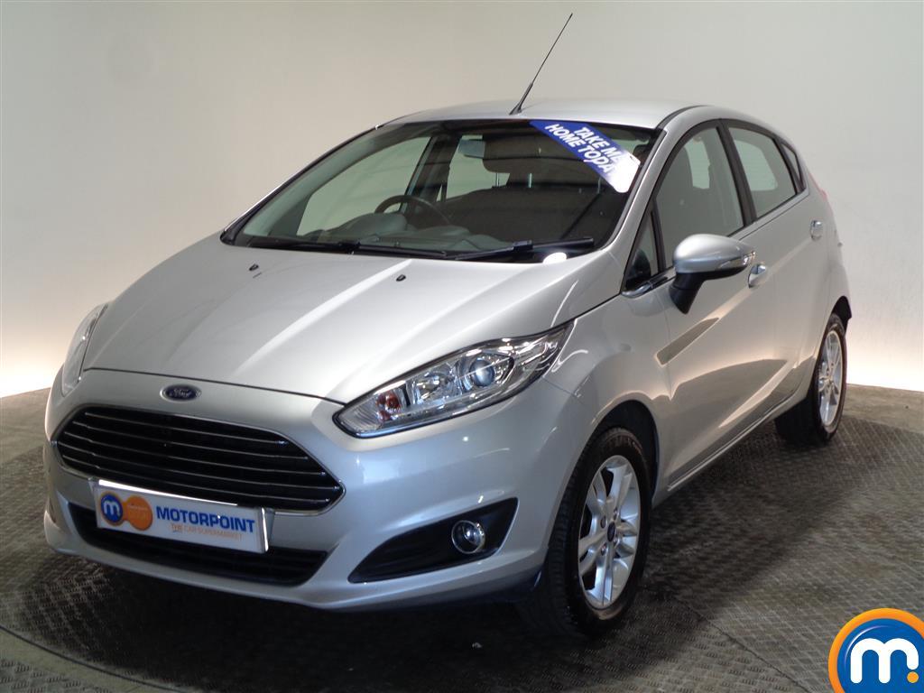 Ford Fiesta Zetec - Stock Number (983435) - Passenger side front corner