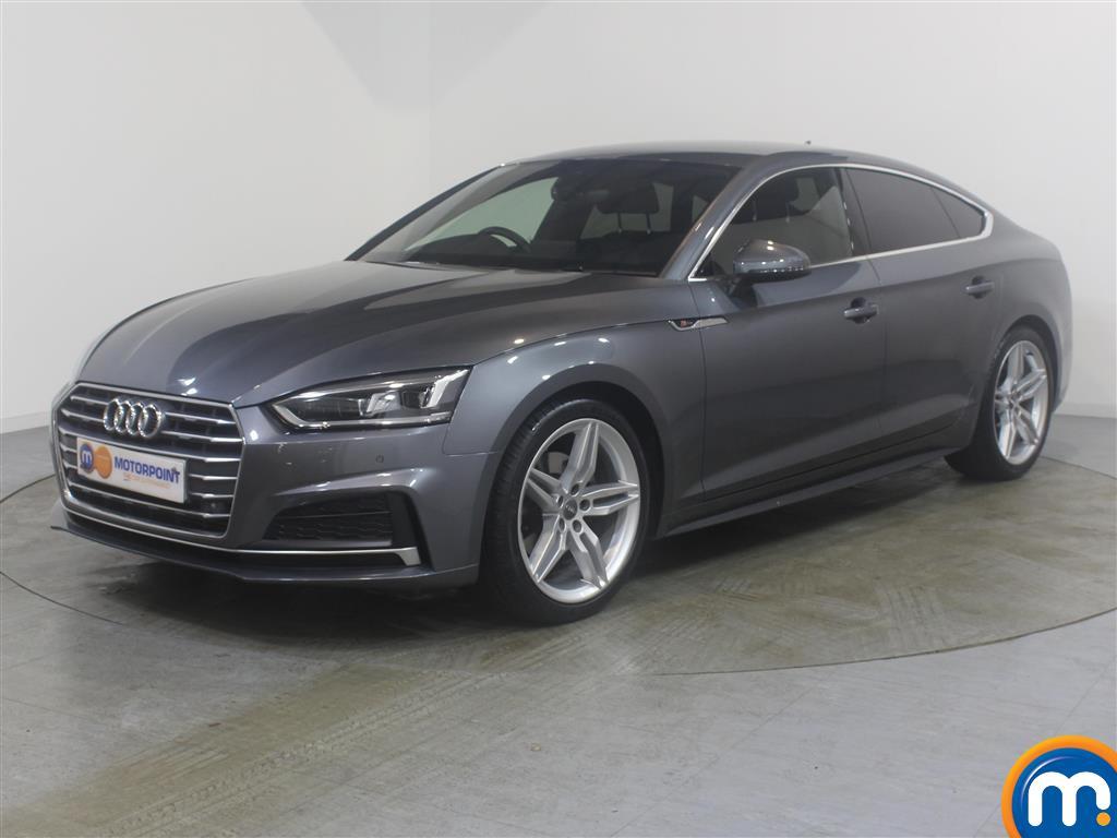 Audi A5 S Line - Stock Number (982590) - Passenger side front corner
