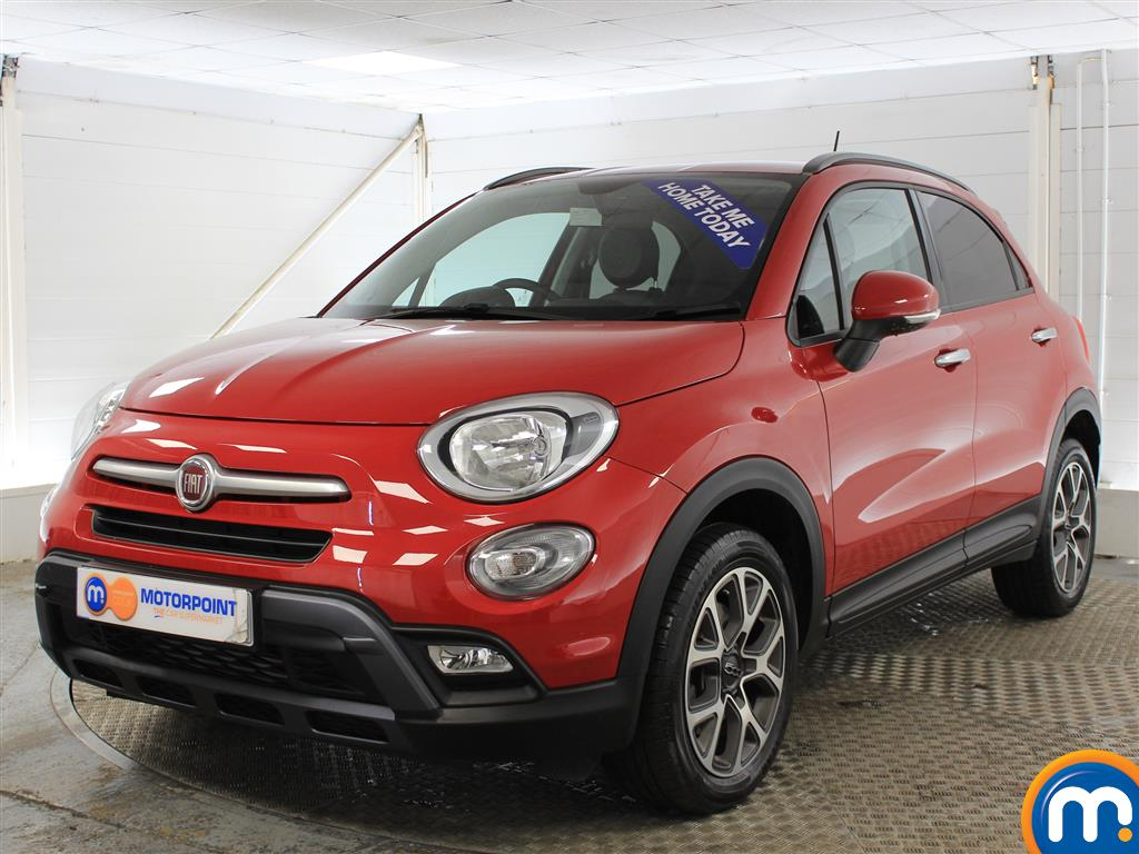 Fiat 500X Cross - Stock Number (986567) - Passenger side front corner