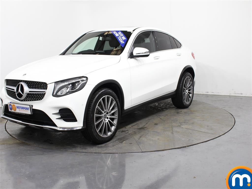 Mercedes-Benz Glc Coupe AMG Line - Stock Number (982766) - Passenger side front corner