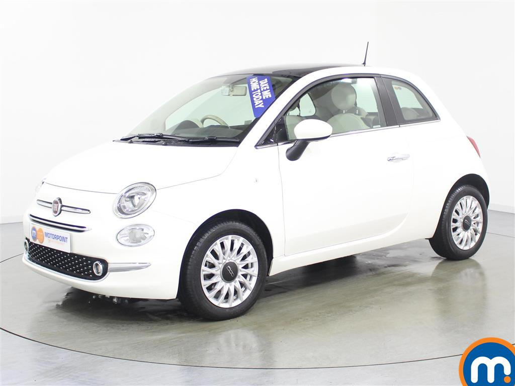Fiat 500 Lounge - Stock Number (985071) - Passenger side front corner