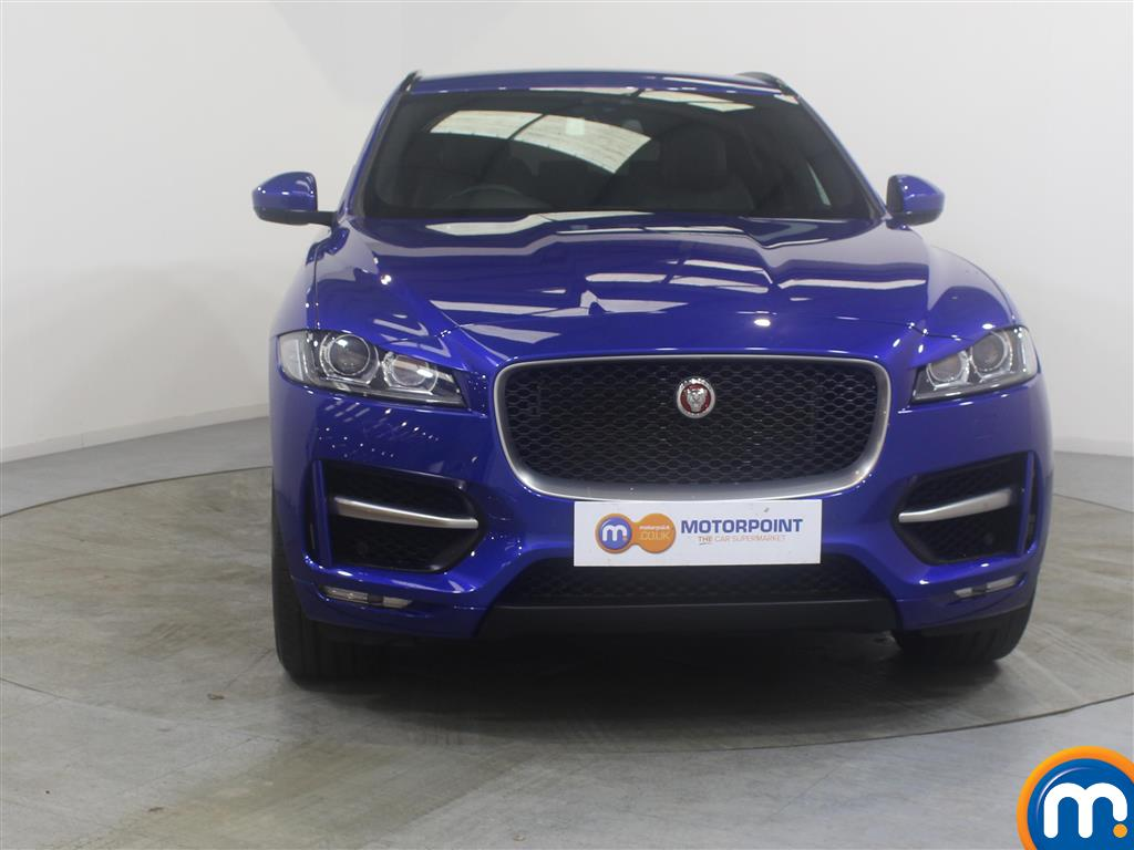 Jaguar F-Pace R-Sport Manual Diesel Estate - Stock Number (988474) - Front bumper