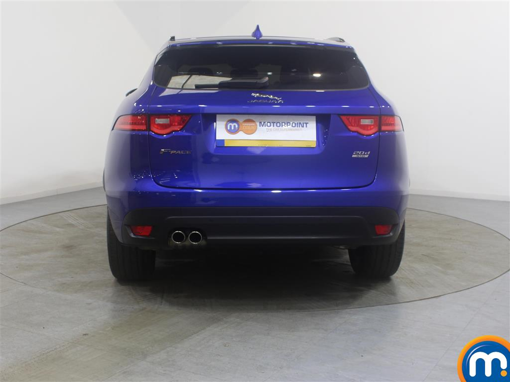 Jaguar F-Pace R-Sport Manual Diesel Estate - Stock Number (988474) - Rear bumper