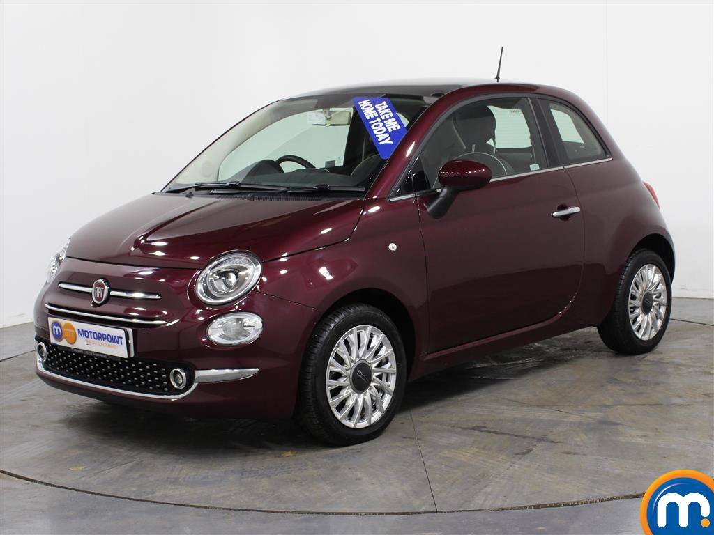 Fiat 500 Lounge - Stock Number (986613) - Passenger side front corner