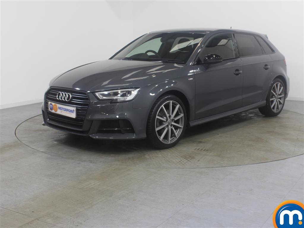 Audi A3 Black Edition - Stock Number (981187) - Passenger side front corner