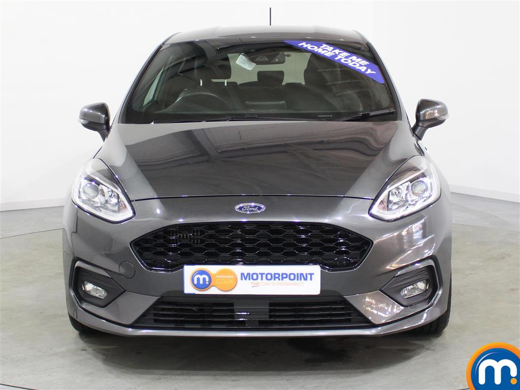 Ford Fiesta St-Line X Manual Petrol Hatchback - Stock Number (984463) - Drivers side front corner