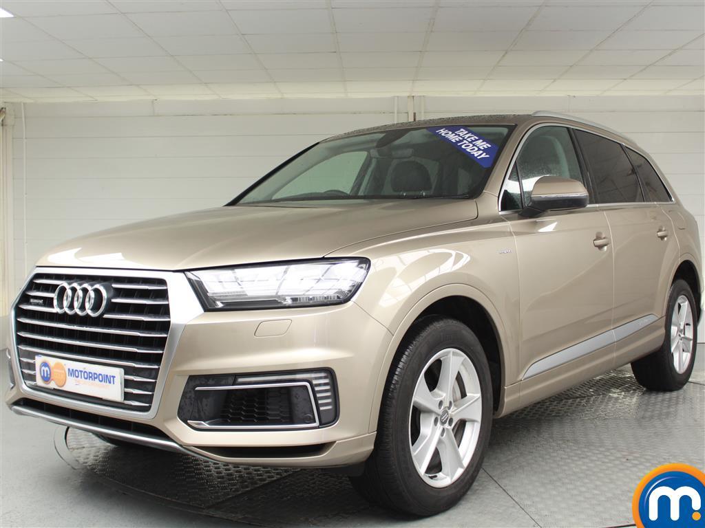 Audi Q7 E-tron - Stock Number (987624) - Passenger side front corner