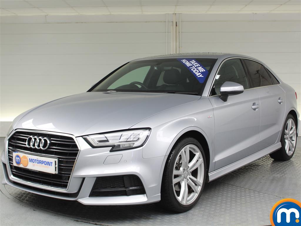 Audi A3 S Line - Stock Number (986271) - Passenger side front corner