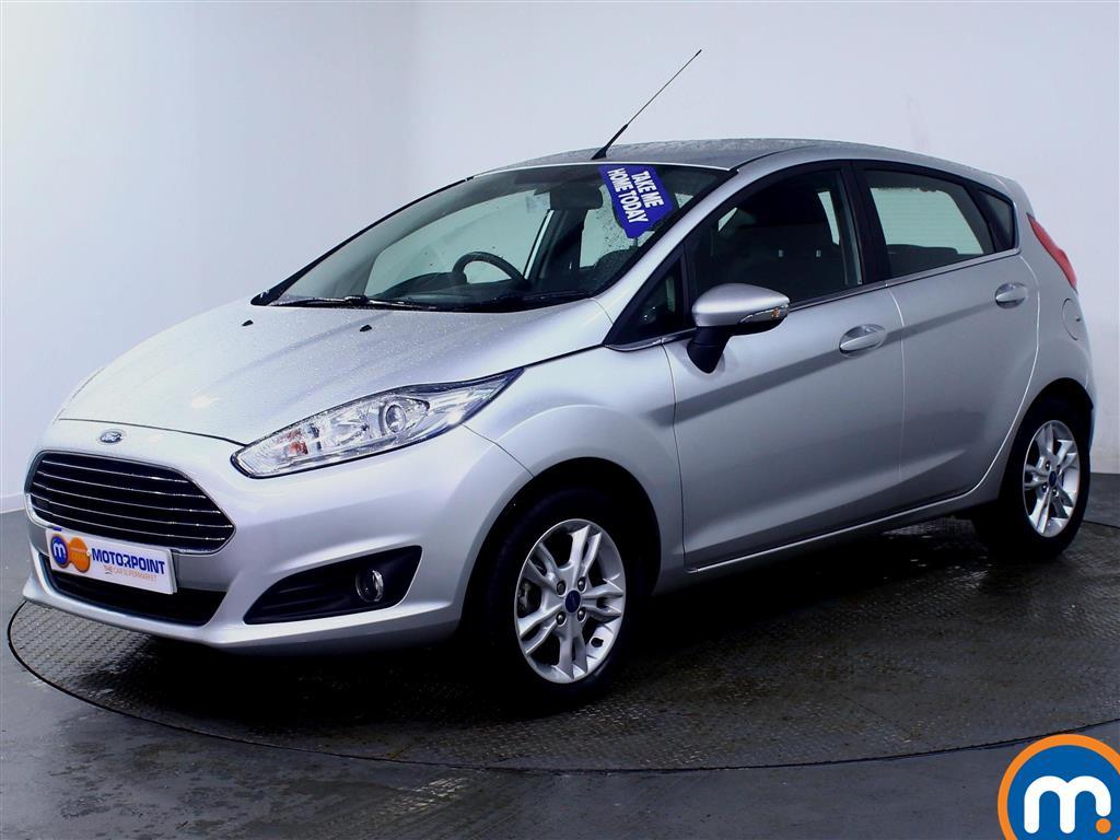 Ford Fiesta Zetec - Stock Number (988435) - Passenger side front corner