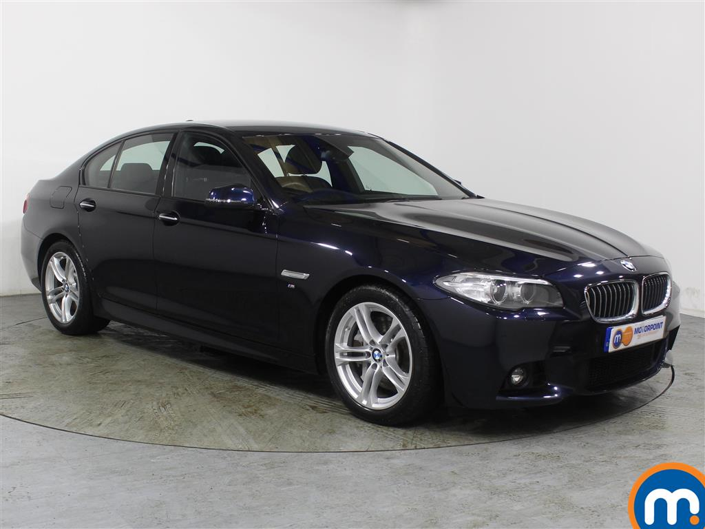 BMW 5 Series M Sport Automatic Diesel Saloon - Stock Number (987750) - Drivers side front corner