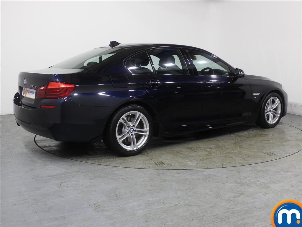 BMW 5 Series M Sport Automatic Diesel Saloon - Stock Number (987750) - Drivers side rear corner