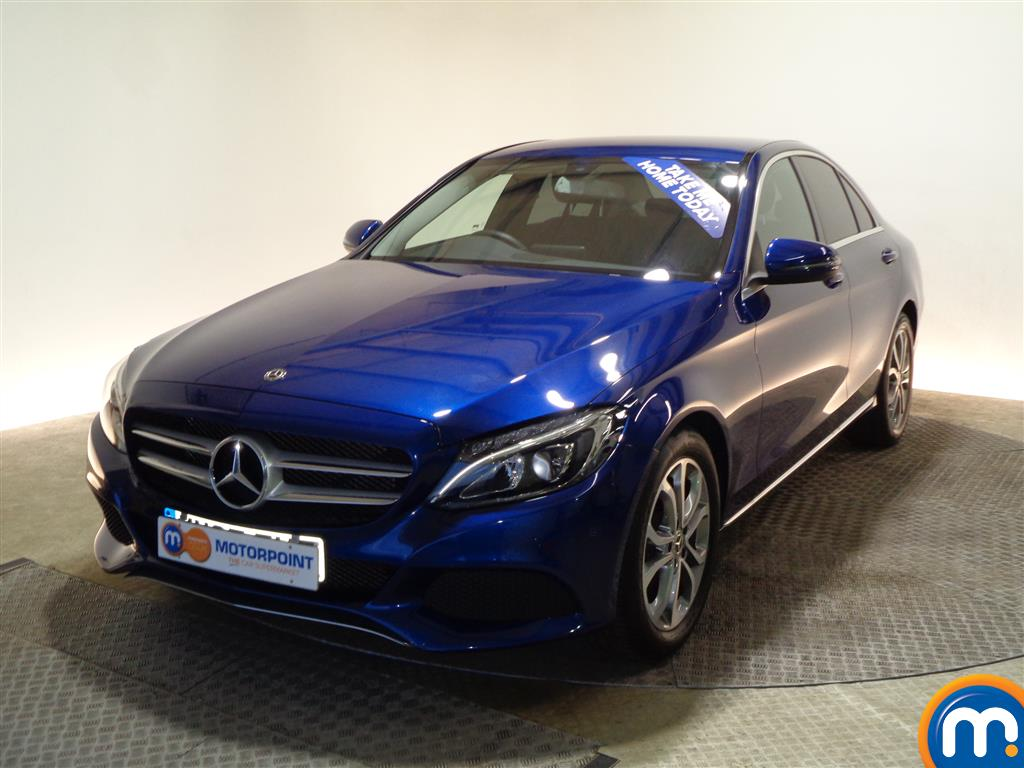 Mercedes-Benz C Class Sport - Stock Number (976761) - Passenger side front corner