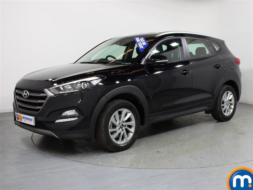 Hyundai Tucson SE - Stock Number (984646) - Passenger side front corner