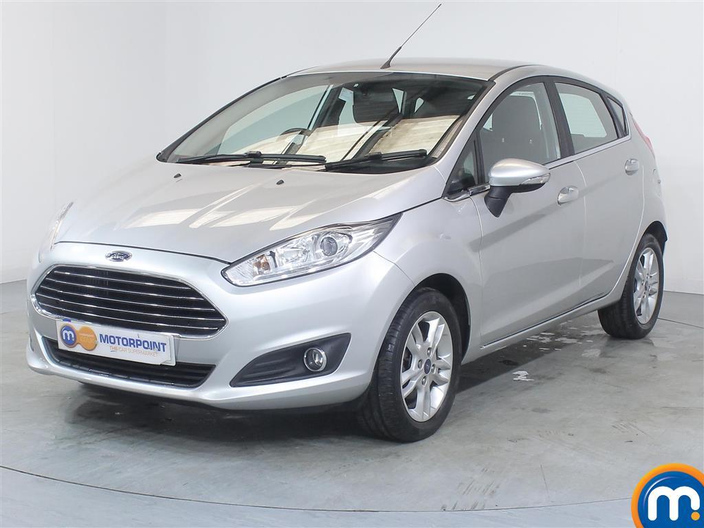 Ford Fiesta Zetec - Stock Number (988698) - Passenger side front corner