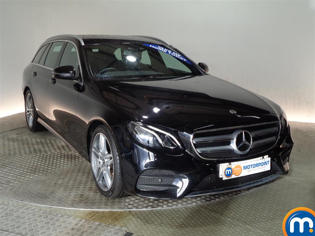 Mercedes-Benz E Class Amg Line Automatic Diesel Estate - Stock Number (983581) - Drivers side front corner