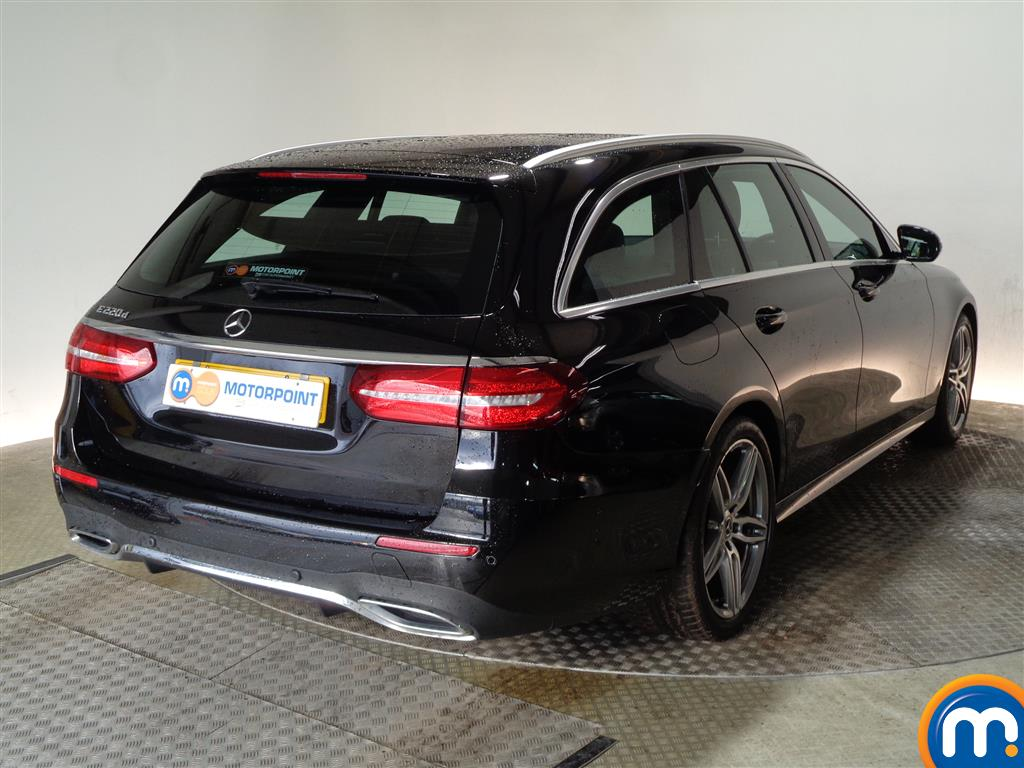 Mercedes-Benz E Class Amg Line Automatic Diesel Estate - Stock Number (983581) - Drivers side rear corner