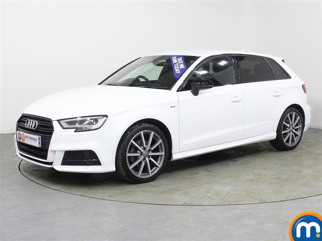 Audi A3 Black Edition - Stock Number (987616) - Passenger side front corner