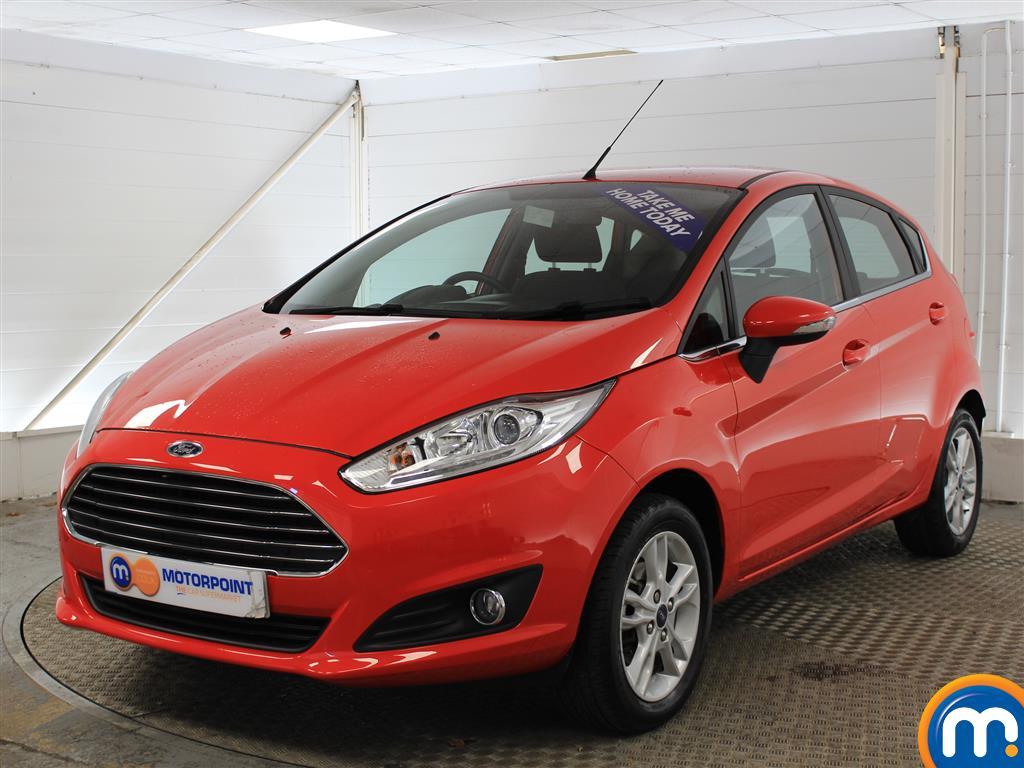 Ford Fiesta Zetec - Stock Number (989337) - Passenger side front corner