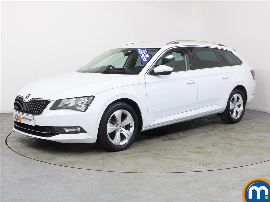 Skoda Superb SE Technology - Stock Number (983242) - Passenger side front corner