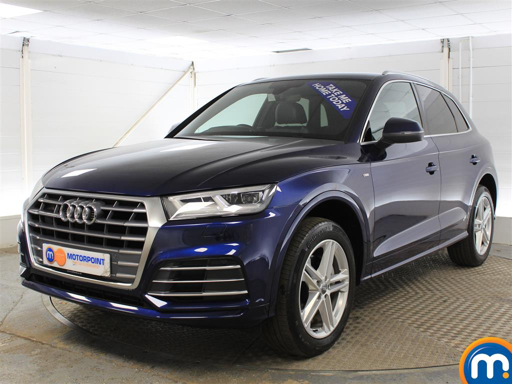 Audi Q5 S Line - Stock Number (990140) - Passenger side front corner