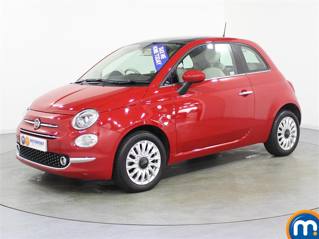 Fiat 500 Lounge - Stock Number (985068) - Passenger side front corner
