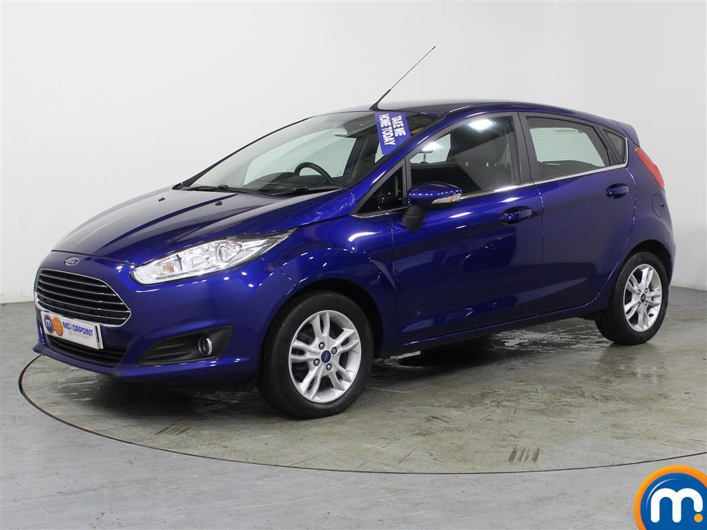 Ford Fiesta Zetec - Stock Number (973625) - Passenger side front corner