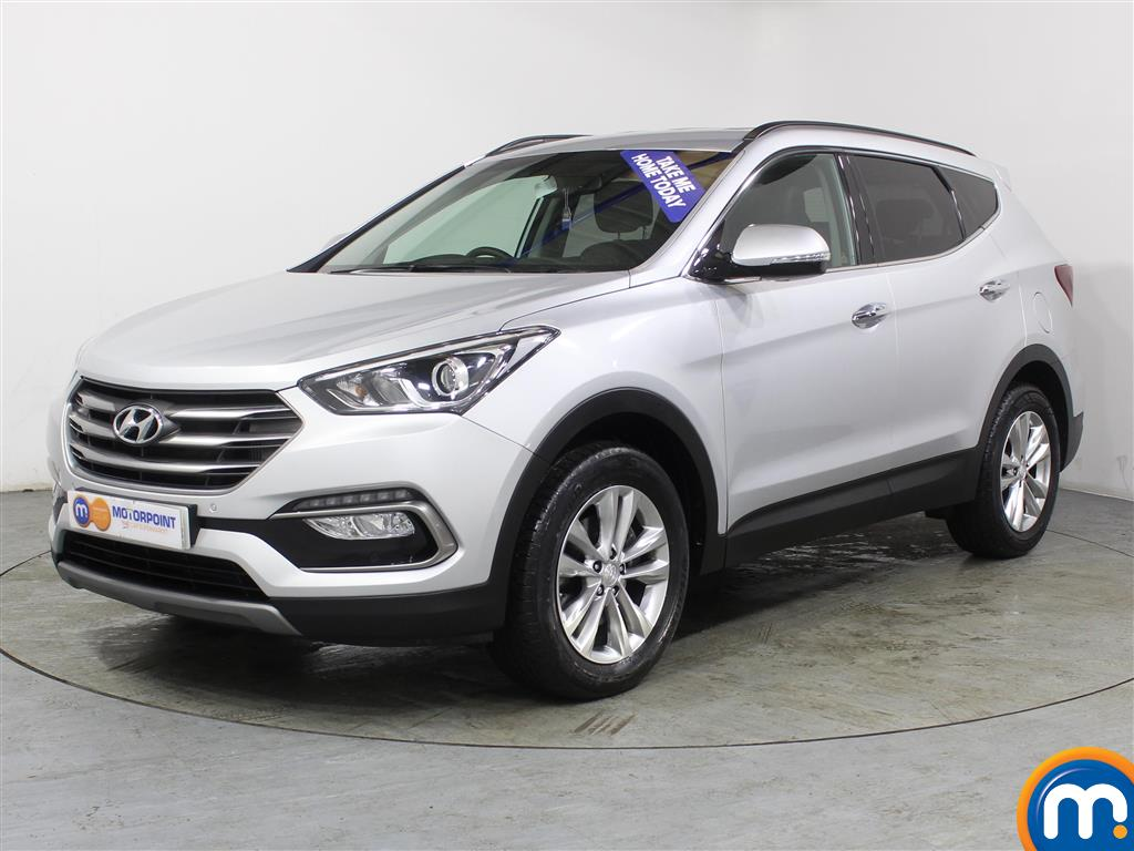 Hyundai Santa Fe Premium - Stock Number (983082) - Passenger side front corner
