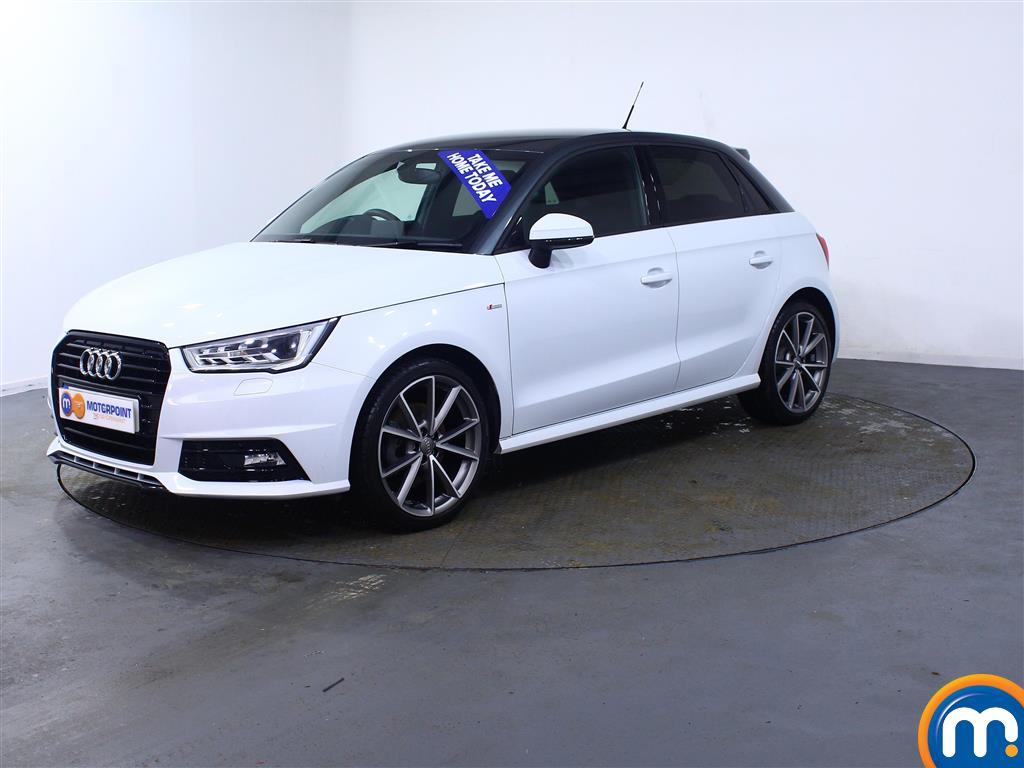 Audi A1 Black Edition Nav - Stock Number (988417) - Passenger side front corner