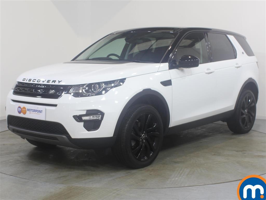 Land Rover Discovery Sport HSE Black - Stock Number (988798) - Passenger side front corner