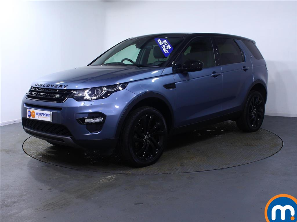 Land Rover Discovery Sport HSE Black - Stock Number (983938) - Passenger side front corner
