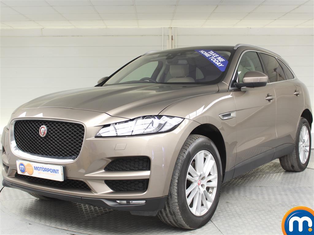 Jaguar F-Pace Portfolio - Stock Number (983249) - Passenger side front corner