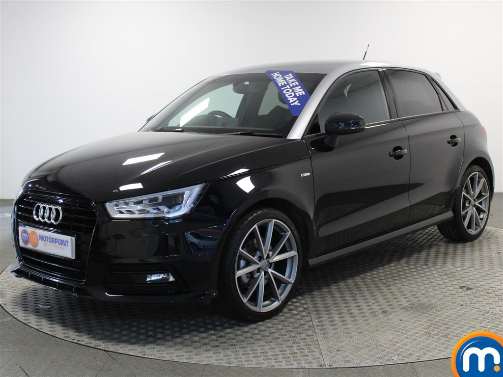 Audi A1 Black Edition Nav - Stock Number (987222) - Passenger side front corner