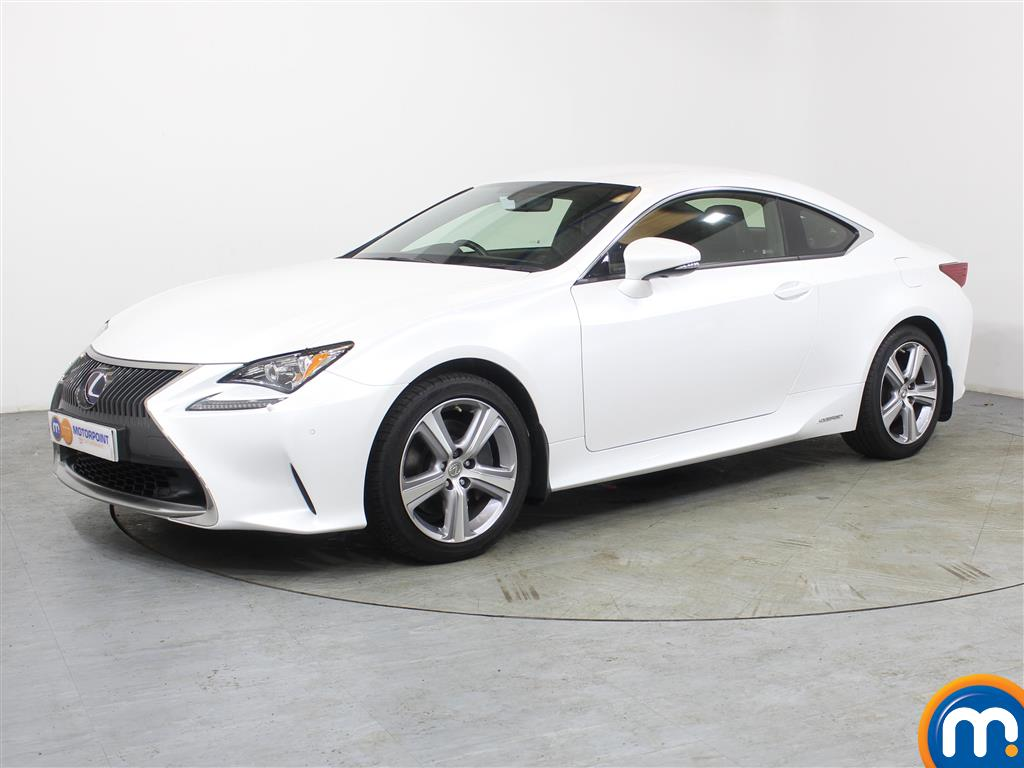 Lexus RC Luxury - Stock Number (988794) - Passenger side front corner