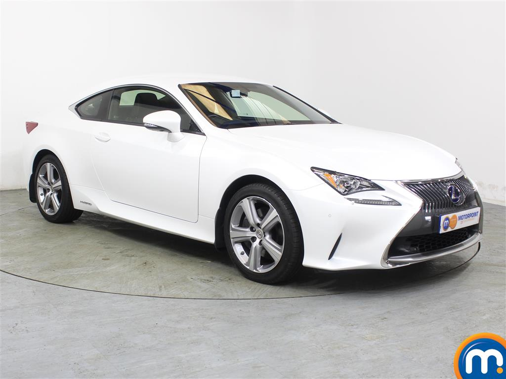 Lexus RC Luxury Automatic Petrol-Electric Hybrid Coupe - Stock Number (988794) - Drivers side front corner