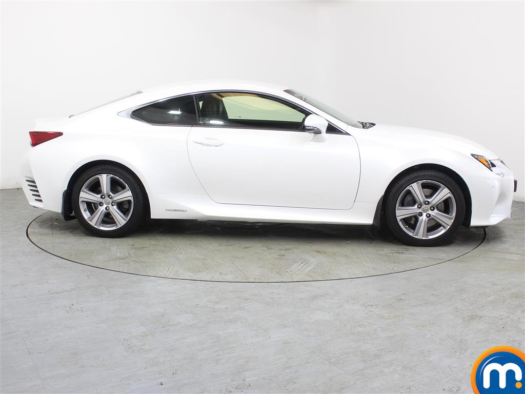 Lexus RC Luxury Automatic Petrol-Electric Hybrid Coupe - Stock Number (988794) - Drivers side